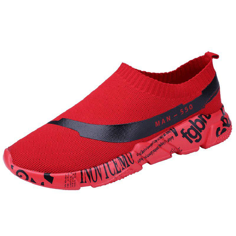 Outfit Fashion Slip-on Breathable Comfort Casual Sneakers for Men