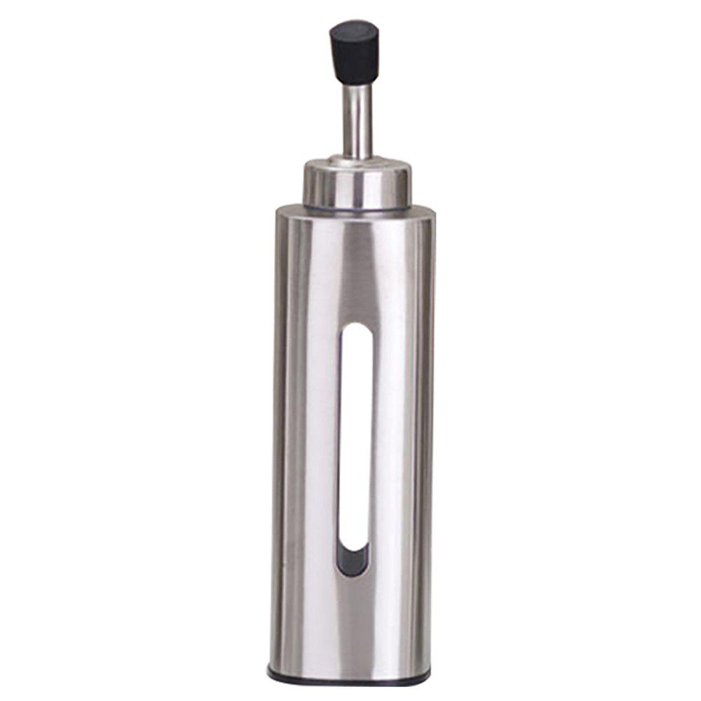 Hot Stainless Steel PC Liner Sealing Up Spice Bottle / Oilcan with Cover for Kitchen / Outdoor Barbecue