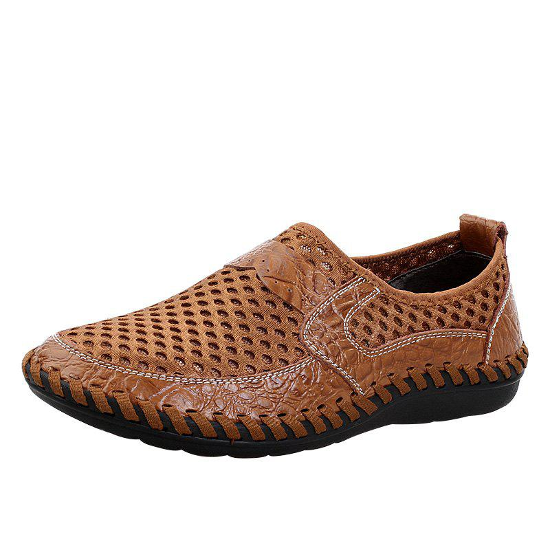Outfit Stylish Breathable Slip-on Casual Shoes for Men
