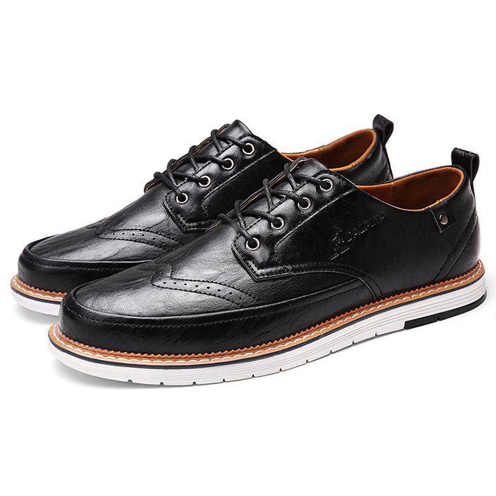 Outfit Men PU Leather Business Casual Oxford Shoes