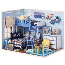 DIY Jigsaw Puzzle Hand-assembled Cottage Small House Model Toy Set -