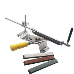 Household Kitchen Fast Practical Sharpener with 4 Whetstones -