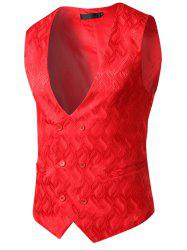 Flame and Flower Waistcoat for Men -