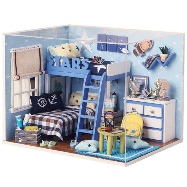 Discount DIY Jigsaw Puzzle Hand-assembled Cottage Small House Model Toy Set