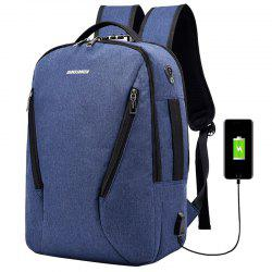 Fashion Elegant Outdoor Big Capacity USB Charging Backpack -