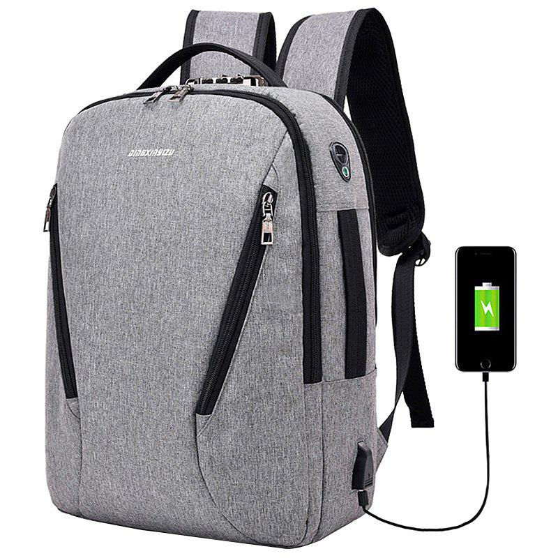 Affordable Fashion Elegant Outdoor Big Capacity USB Charging Backpack