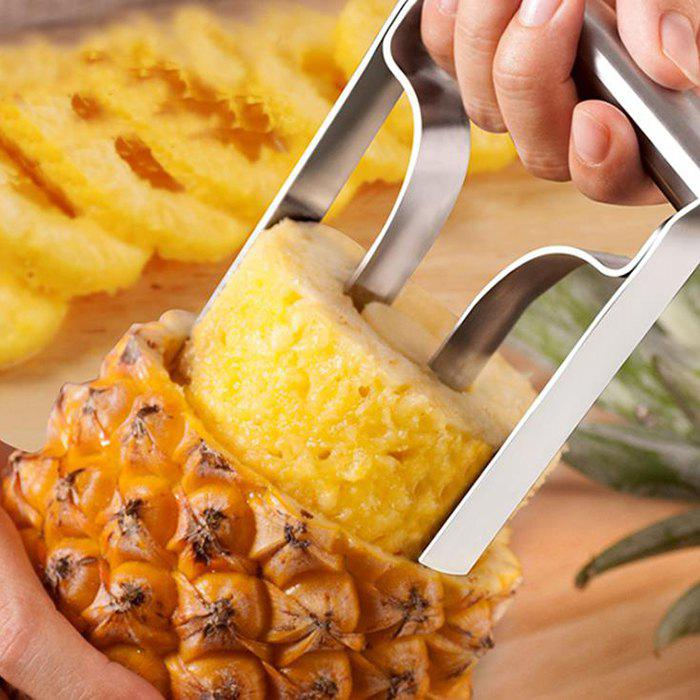 Outfit Creative Stainless Steel Pineapple Peeler Slicer Core Extractor