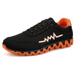 Men English Style Canvas Casual Sports Low Shoes Sneakers -