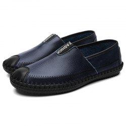 Genuine Leather Casual Wearable Shoes for Men -