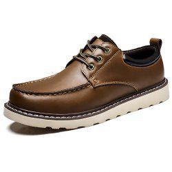 Casual Simple Leather Shoes for Men -