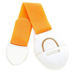 Adhesive Baby Safety Lock for Bathroom and Kitchen Storage Doors -