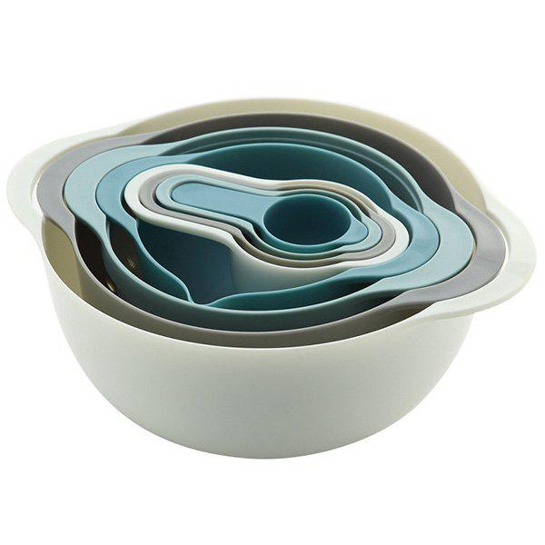 Rainbow Multi Function Bakery Bowls for Kitchen 8pcs 277858501