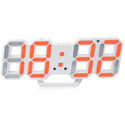 3D LED Modern Electronic Clock -