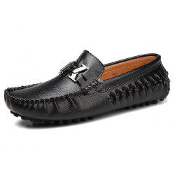 Fashion Genuine Leather Casual Wearable Shoes for Men -