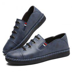 Fashion Casual Daily Breathable Leather Shoes for Man -