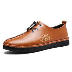 Genuine Leather Casual Wearable Anti-slip Shoes for Men -