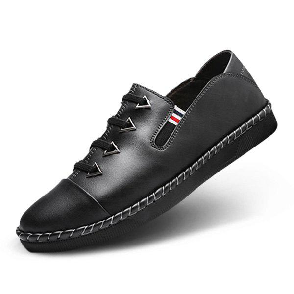 Fancy Fashion Casual Daily Breathable Leather Shoes for Man