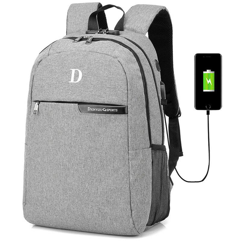 Chic Creative Anti-theft Man Backpack