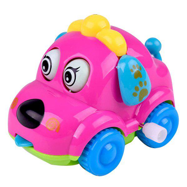 Fashion Funny Cartoon Puppy Clockwork Car Educational Toys