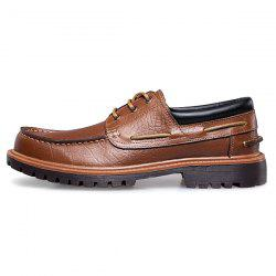 Fashion Leather Handmade Casual Business Shoes for Man -