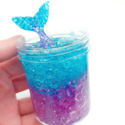 Funny Flexible Jelly Ball Mermaid Crystal Slime Mud Toy with Scent -