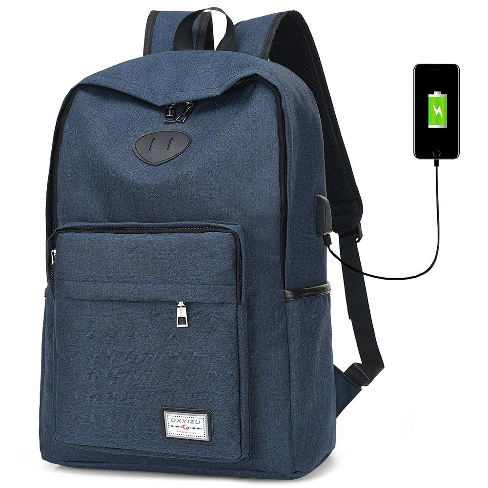 Sale USB Charging Port Design Man Backpack