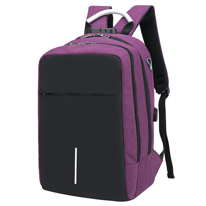 Latest USB Port Design Man Backpack