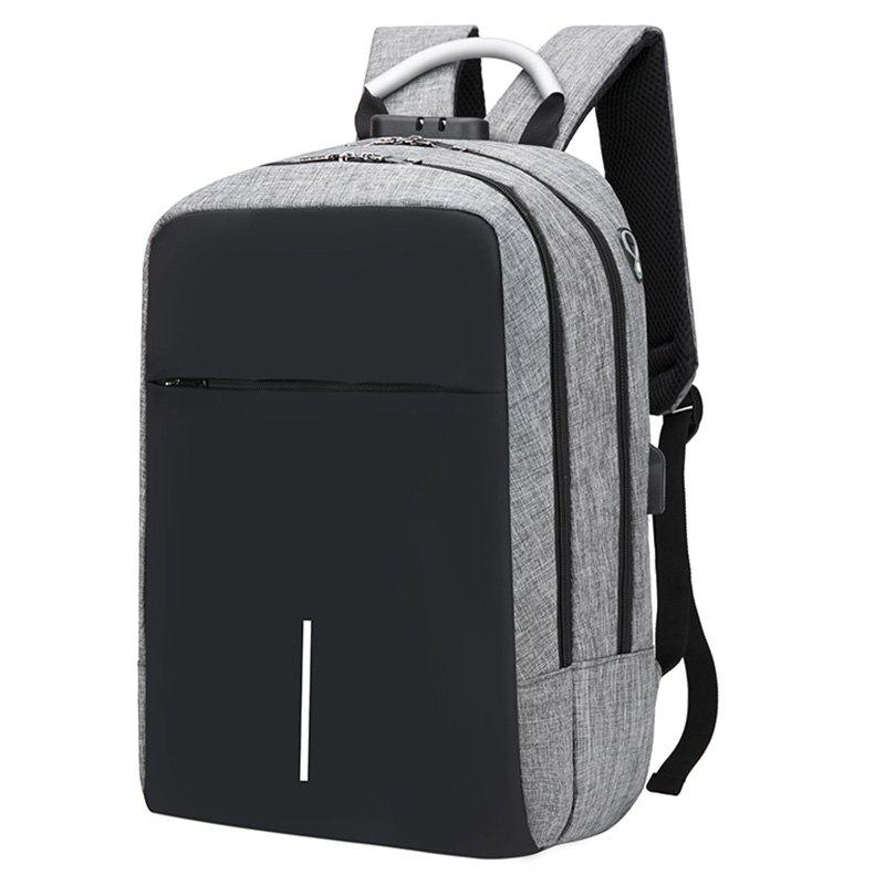 Buy USB Port Design Man Backpack