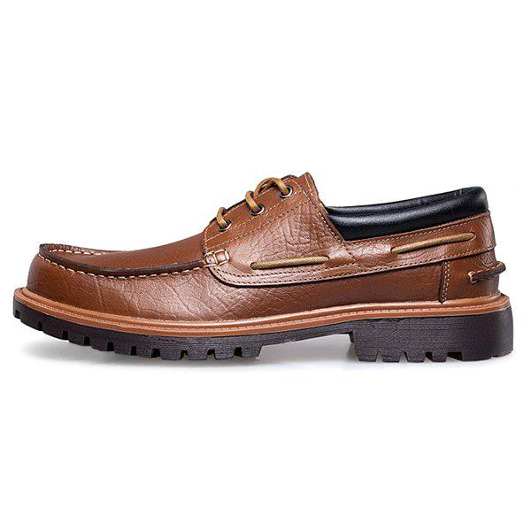 Affordable Fashion Leather Handmade Casual Business Shoes for Man
