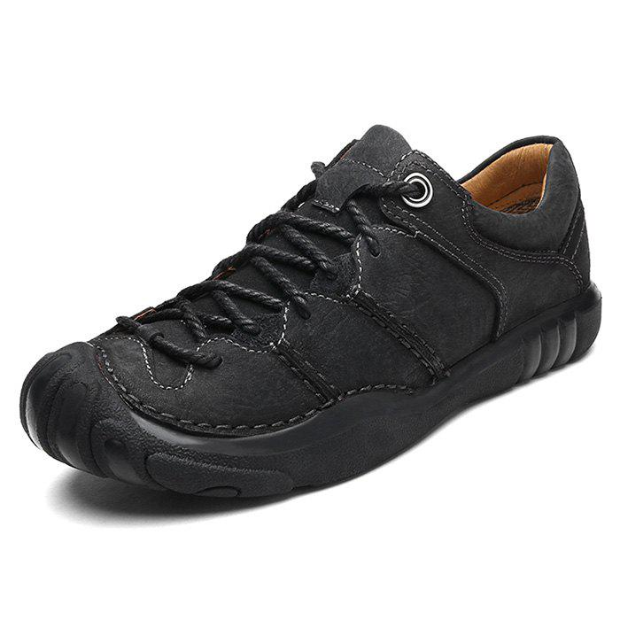Trendy Leisure Outdoor Comfortable Leather Hiking Casual Shoes for Men