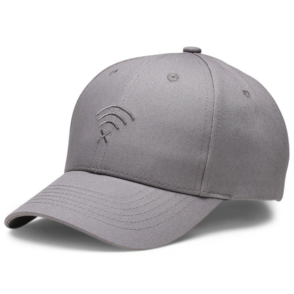 Store Stylish Outdoor Sun Protection Embroidery Adjustable Baseball Cap