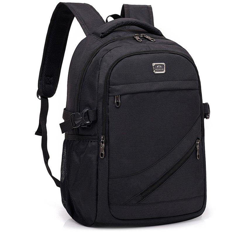 Shops Fashion USB Port Design Man Backpack