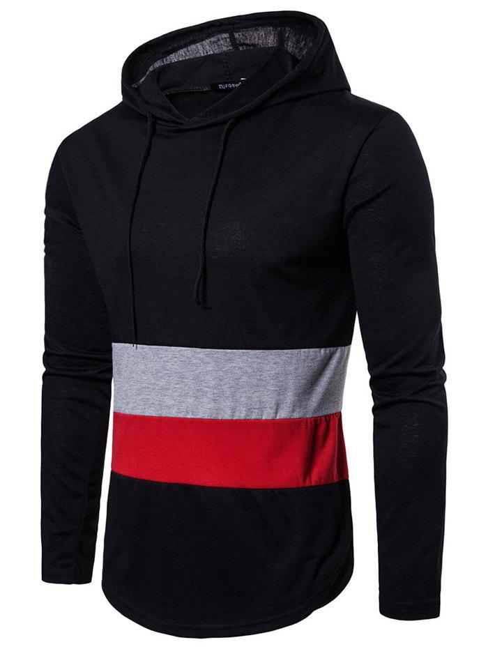 Best Long Sleeve Joint Casual Athletic Thin Sweatshirt Pullover Hoodie for  Men 0a4007d3489d