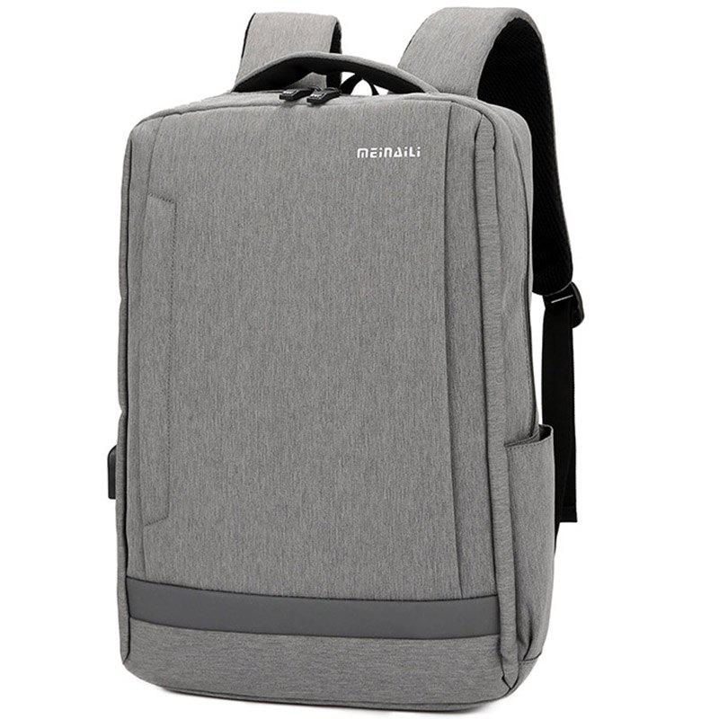 Sale Large Capacity USB Port Unisex Backpack