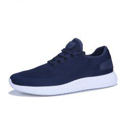 Casual Breathable Solid Color Running Sneakers -