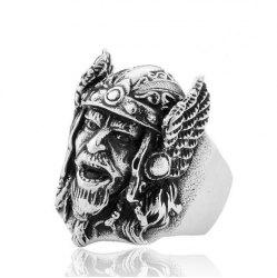 Stylish Metal Headshot Ring for Men -