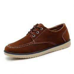 Men Fashion Soft Anti-slip Lace-up Casual Shoes -