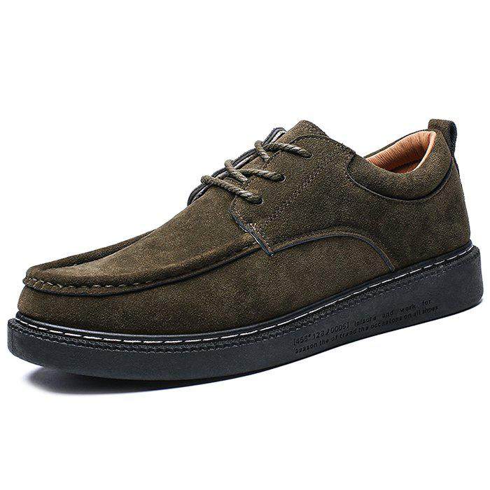 Shops Suede Casual Fashionable Shoes for Men