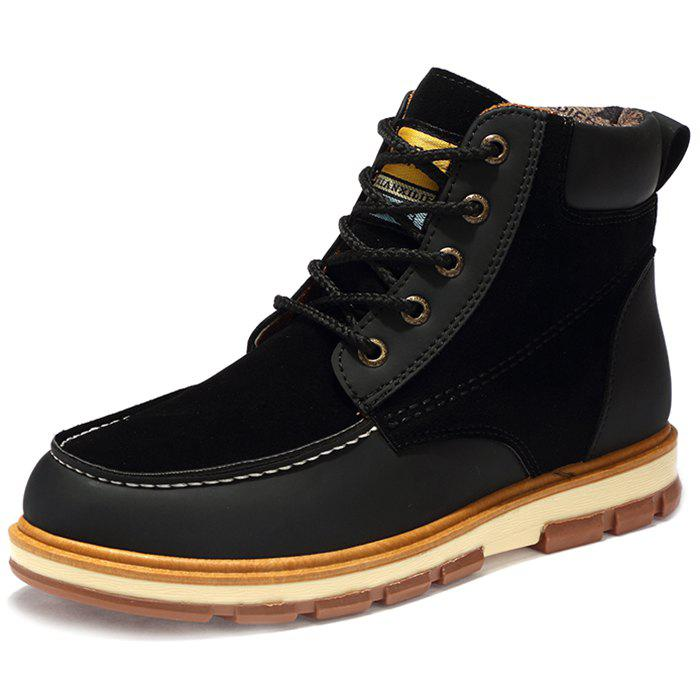 Sale Fashionable Thickening Sole PU Leather Boots for Men