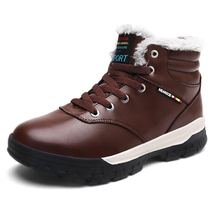 Affordable Outdoor Comfortable Warm Waterproof Snow Boots for Men