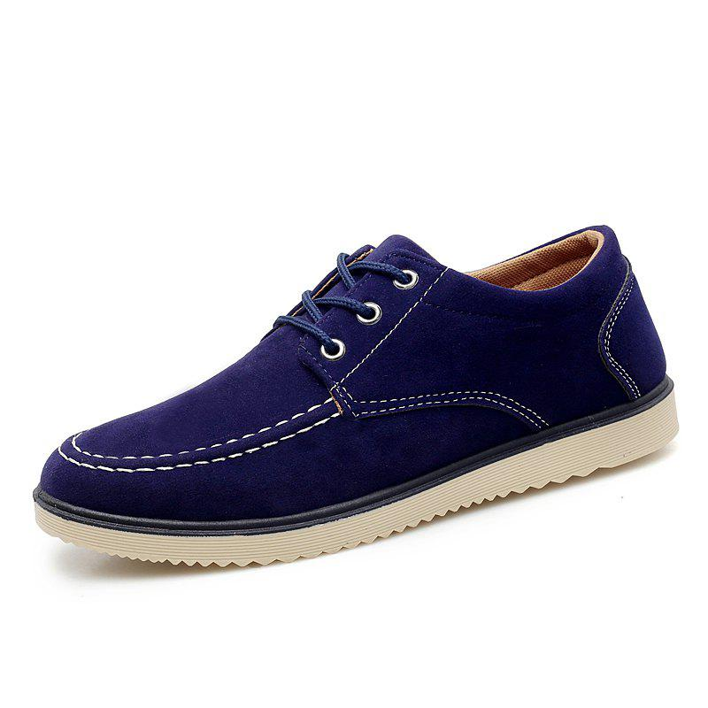 Chic Men Fashion Soft Anti-slip Lace-up Casual Shoes