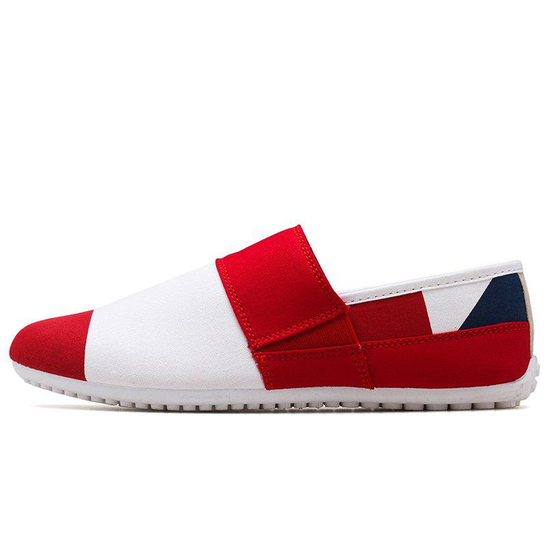 Fashion Low Top Matching Color Casual Shoes