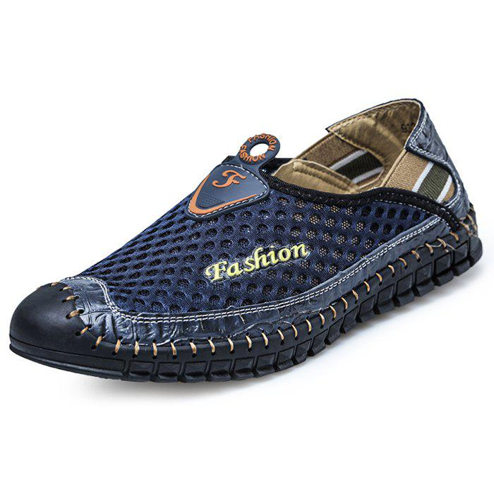 Fashion Stylish Splicing Breathable Anti-slip Casual Shoes for Men