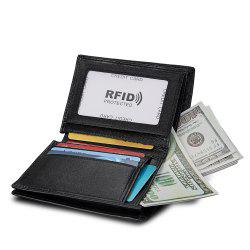 Anti-theft Leather Men's Wallet -