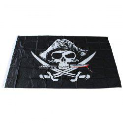Pirate Flag Skull Pattern Bar Haunted House KTV Decoration -