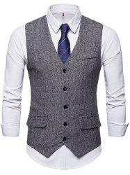 Formal Fashionable Simple Waistcoat for Business / Wedding -
