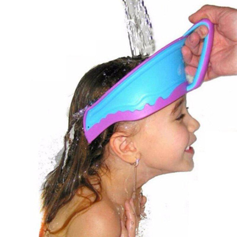 Best Adjustable Shower Cap Hair Washing Protective Bathing Visor Shampoo Hats for Kids