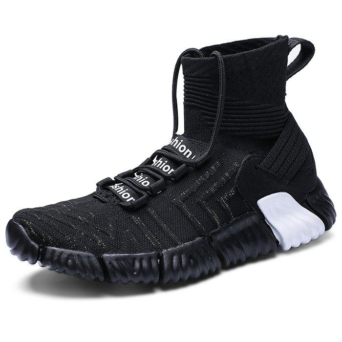 Unique Trendy Durable Breathable High-top Casual Sneakers for Men