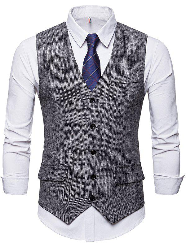 Cheap Formal Fashionable Simple Waistcoat for Business / Wedding
