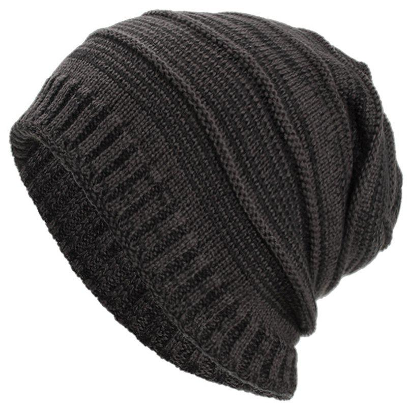 Fashion Man Warm-keeping Knitted Hat for Winter
